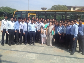Industrial Visit to IIITDelhi on 15 -16 March 2013_4