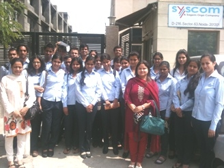 Industrial Visit to Syscom Pvt Ltd 18th September 2010_3